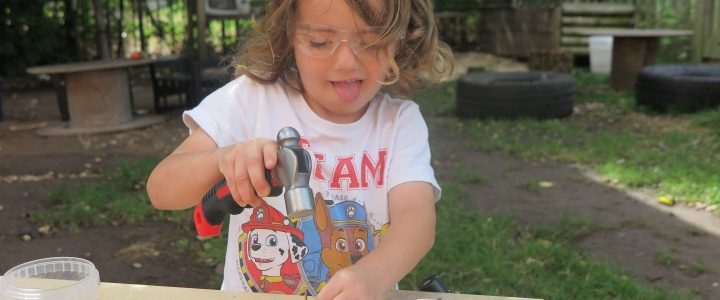 EYFS Woodwork training in Oxfordshire